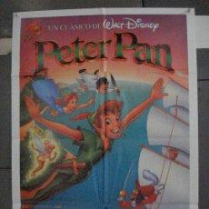 Cine: CDO 5479 PETER PAN WALT DISNEY POSTER ORIGINAL 70X100 ESPAÑOL R-92. Lote 219107212