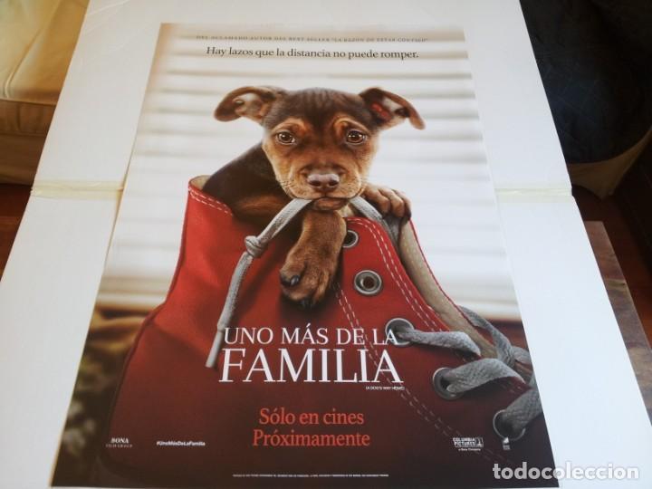 UNO MAS DE LA FAMILIA - ASHLEY JUDD, JONAH HAUER-KING - CARTEL ORIGINAL SONY AÑO 2019 (Cine - Posters y Carteles - Infantil)