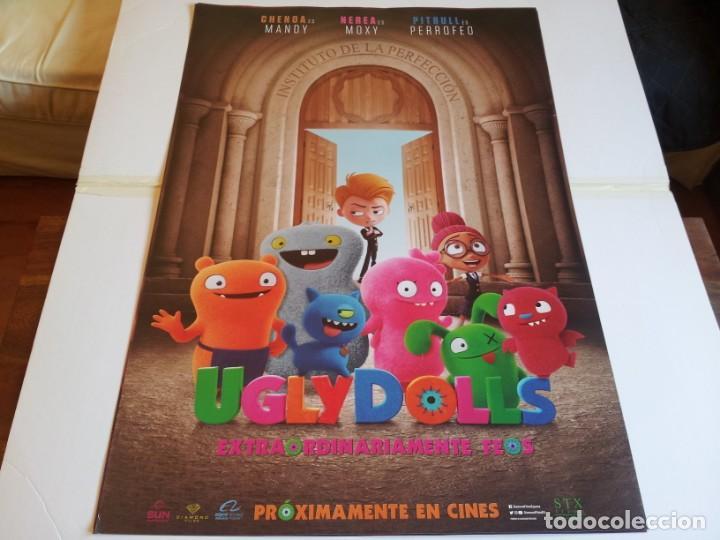 UGLY DOLLS EXTRAORDINARIAMENTE FEOS - ANIMACION - CARTEL ORIGINAL DIAMOND AÑO 2019 (Cine - Posters y Carteles - Infantil)