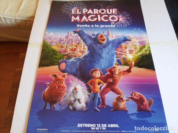 EL PARQUE MAGICO, SUEÑA ALO GRANDE - ANIMACION - CARTEL ORIGINAL PARAMOUNT AÑO 2019 (Cine - Posters y Carteles - Infantil)