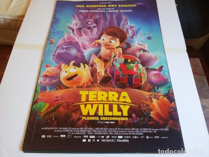 TERRA WILLY PLANETA DESCONOCIDO - ANIMACION - CARTEL ORIGINAL KARMA FILMS AÑO 2019 (Cine - Posters y Carteles - Infantil)
