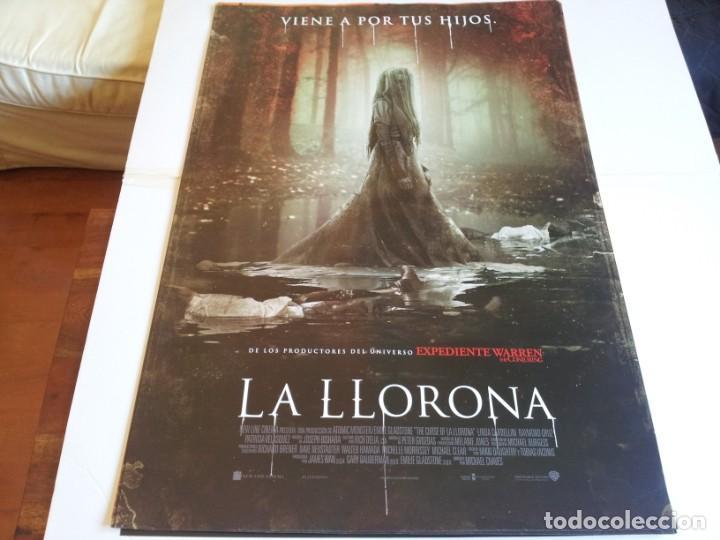 LA LLORONA - LINDA CARDELLINI, PATRICIA VELASQUEZ - CARTEL ORIGINAL WARNER AÑO 2019 (Cine - Posters y Carteles - Terror)