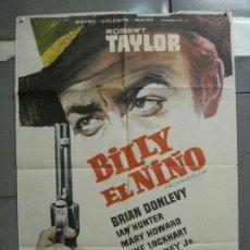 Cine: CDO 5581 BILLY EL NIÑO ROBERT TAYLOR POSTER ORIGINAL 70X100 ESTRENO. Lote 219209921