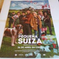 Cine: LA PEQUEÑA SUIZA - MAGGIE CIVANTOS, JON PLAZAOLA - CARTEL ORIGINAL EONE AÑO 2019. Lote 219210280