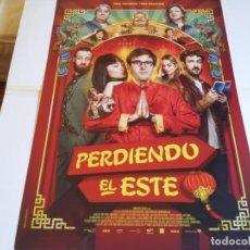 Cine: PERDIENDO EL ESTE - JULIÁN LÓPEZ, MIKI ESPARBÉ, CARMEN MACHI - CARTEL ORIGINAL WARNER AÑO 2019. Lote 229009265