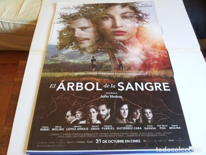 EL ARBOL DE LA SANGRE - ÚRSULA CORBERÓ, ÁLVARO CERVANTES - CARTEL ORIGINAL DIAMOND AÑO 2018 (Cine - Posters y Carteles - Clasico Español)