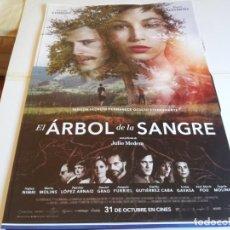 Cine: EL ARBOL DE LA SANGRE - ÚRSULA CORBERÓ, ÁLVARO CERVANTES - CARTEL ORIGINAL DIAMOND AÑO 2018. Lote 287988783