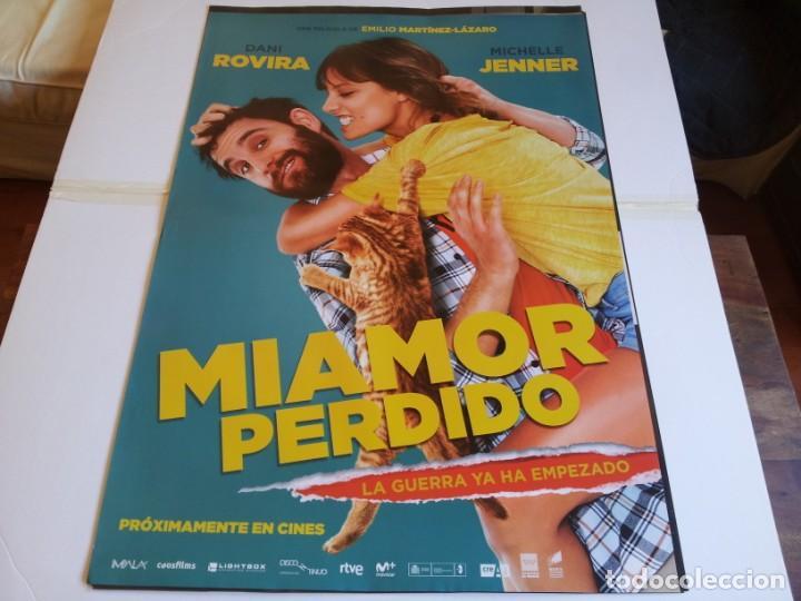 MI AMOR PERDIDO - DANI ROVIRA, MICHELLE JENNER, ANTONIO DECHENT - CARTEL ORIGINAL SONY AÑO 2018 (Cine - Posters y Carteles - Clasico Español)