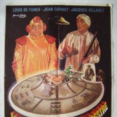 Cine: MI AMIGO EL EXTRATERRESTRE, CON LOUIS DE FUNES. PÓSTER 70 X 100 CMS.. DISEÑO: MAC.. Lote 219250942