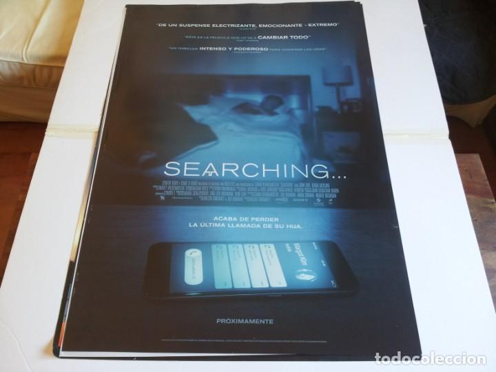 SEARCHING... - JOHN CHO, DEBRA MESSING, JOSEPH LEE - CARTEL ORIGINAL SONY AÑO 2018 (Cine - Posters y Carteles - Suspense)