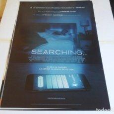 Cine: SEARCHING... - JOHN CHO, DEBRA MESSING, JOSEPH LEE - CARTEL ORIGINAL SONY AÑO 2018. Lote 219278208