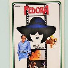 """Cine: CARTEL ORIGINAL DE LA PELÍCULA """"FEDORA"""" DE BILLY WILDER. DIMENSIONES: 39 X 80 CM.. Lote 219283797"""