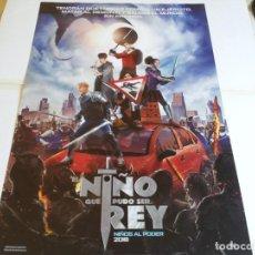 Cine: EL NIÑO QUE PUDO SER REY - LOUIS SERKIS, DEAN CHAUMOO, TOM TAYLOR - CARTEL ORIGINAL FOX AÑO 2019. Lote 219310476