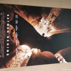 Cine: CARTEL DE CINE BATMAN BEGINS. Lote 219313978
