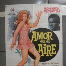 Cine: CDO 5605 AMOR EN EL AIRE ROCIO DURCAL PALITO ORTEGA POSTER ORIGINAL 70X100 ESTRENO. Lote 219315320