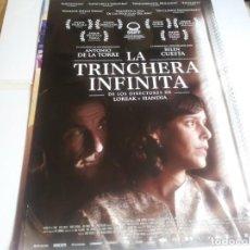 Cine: LA TRINCHERA INFINITA - ANTONIO DE LA TORRE, BELÉN CUESTA - CARTEL ORIGINAL EONE AÑO 2019. Lote 219316818