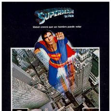 Cinema: SUPERMAN (POSTER). Lote 219318866