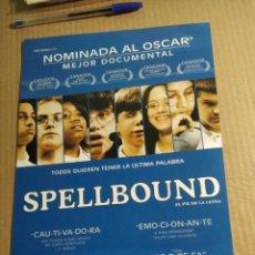 Cine: CARTEL DE CINE SPELLBOUND. Lote 219320832