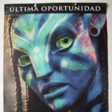 Cine: AVATAR, SAM WORTHINGTON, ZOE SALDAÑA. PÓSTER, 68 X 98 CMS. 2010.. Lote 219324540