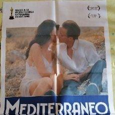Cine: MEDITERRANEO. CARTEL ORIGINAL. GABRIELE SALVATORES, CLAUDIO BIGAGLI, DIEGO ABATANTUONO. Lote 219366938