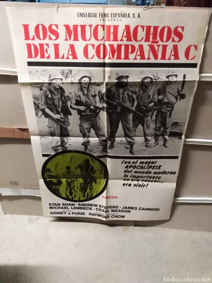 LOS MUCHACHOS DE LA COMPAÑÍA C POSTER ORIGINAL 70X100 YY (2416) (Cine - Posters y Carteles - Bélicas)
