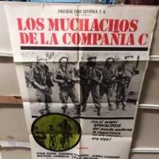 Cine: LOS MUCHACHOS DE LA COMPAÑÍA C POSTER ORIGINAL 70X100 YY (2416). Lote 219390828