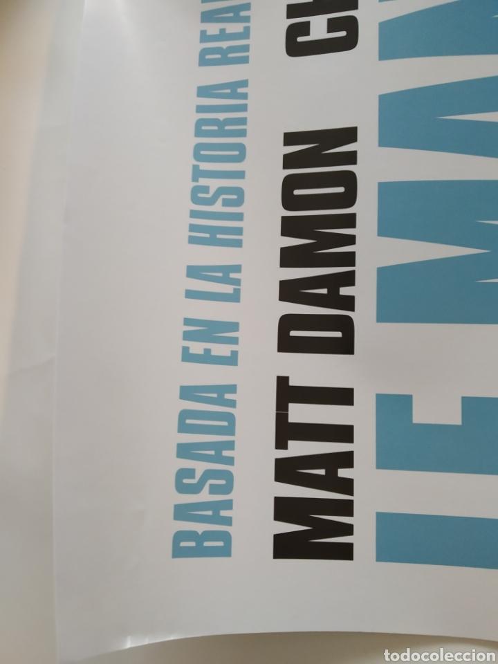 Cine: Póster de la película 68cm x 48cm LE MANS 66, Matt Damon, Christian Bale, FORD vs FERRARI - Foto 9 - 219417098