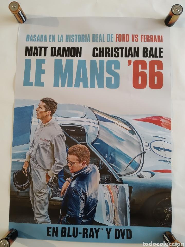 PÓSTER DE LA PELÍCULA 68CM X 48CM LE MANS 66, MATT DAMON, CHRISTIAN BALE, FORD VS FERRARI (Cine - Posters y Carteles - Acción)