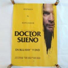 Cine: PÓSTER DE LA PELÍCULA 68CM X 48CM DOCTOR SUEÑO, STEPHEN KING, MIKE FLANAGAN. Lote 219424116