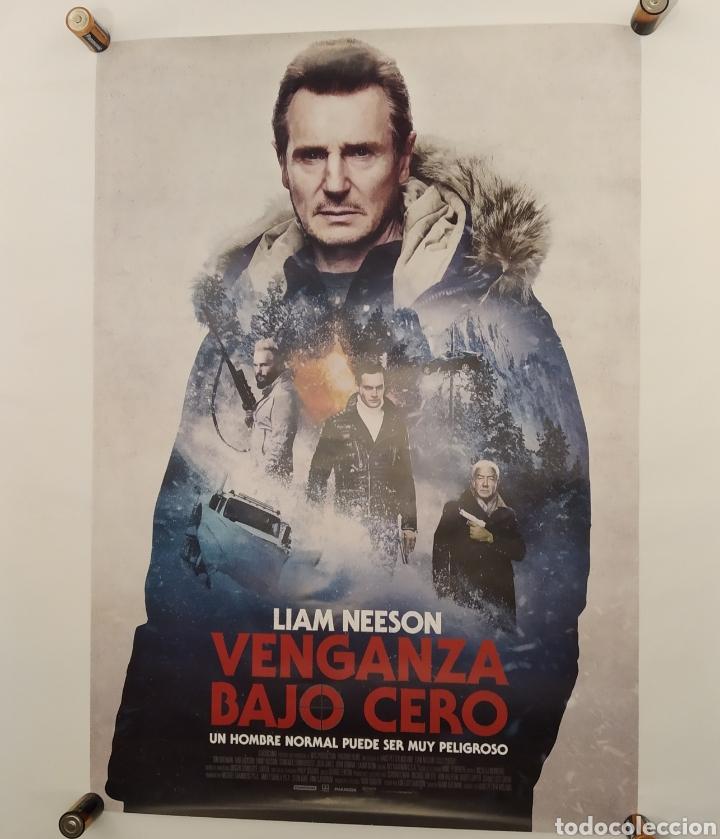 PÓSTER DE LA PELÍCULA 98CM X 68CM VENGANZA BAJO CERO, HANS PETTER MOLAND, LIAM NEESON, LAURA DERN (Cine - Posters y Carteles - Acción)
