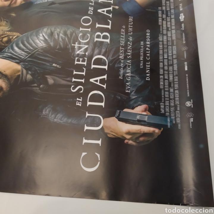 Cine: Póster de la película 98cm x 68cm A EL SILENCIO DE LA CIUDAD BLANCA, Daniel Calparsoro, Belén Rueda - Foto 7 - 219447186