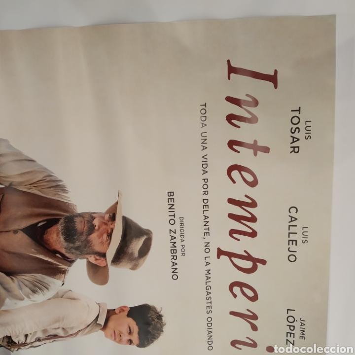 Cine: Póster de la película 98cm x 68cm INTEMPERIE, Benito Zambrano, Luis Tosar, Luis Callejo, Jaime López - Foto 5 - 219448013