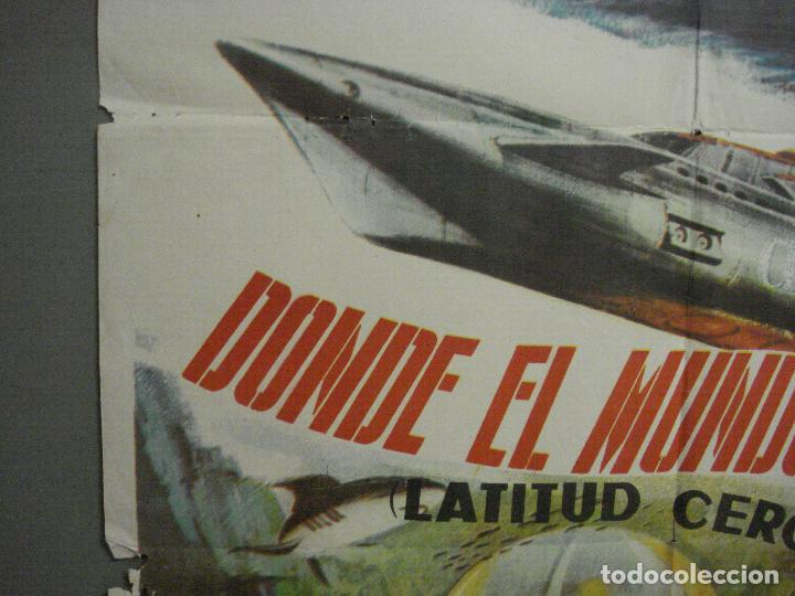 Cine: CDO 5664 DONDE EL MUNDO ACABA ISHIRO HONDA TOHO SCI-FI POSTER ORIGINAL 70X100 DEL ESTRENO - Foto 3 - 219520215