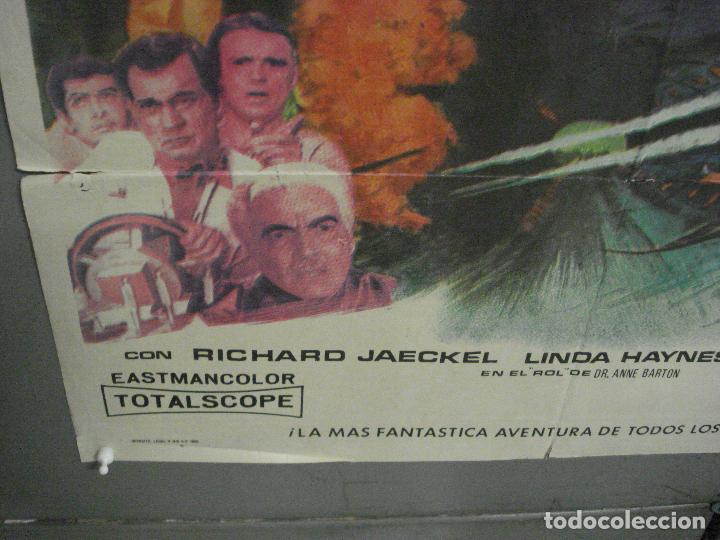 Cine: CDO 5664 DONDE EL MUNDO ACABA ISHIRO HONDA TOHO SCI-FI POSTER ORIGINAL 70X100 DEL ESTRENO - Foto 5 - 219520215