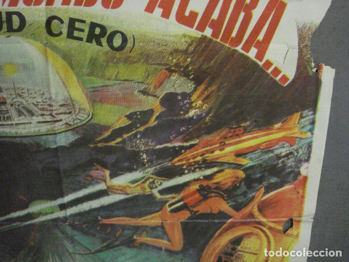 Cine: CDO 5664 DONDE EL MUNDO ACABA ISHIRO HONDA TOHO SCI-FI POSTER ORIGINAL 70X100 DEL ESTRENO - Foto 8 - 219520215