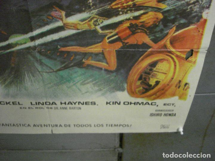Cine: CDO 5664 DONDE EL MUNDO ACABA ISHIRO HONDA TOHO SCI-FI POSTER ORIGINAL 70X100 DEL ESTRENO - Foto 9 - 219520215