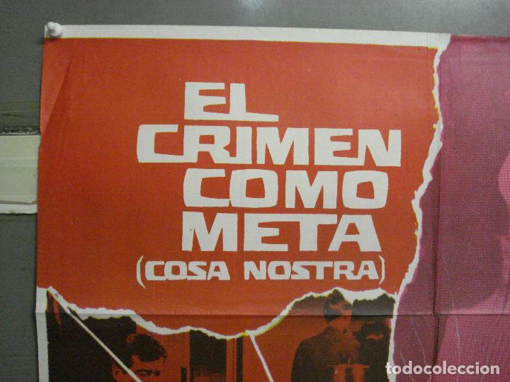 Cine: CDO 5668 EL CRIMEN COMO META EFREM ZIMBALIST WALTER PIDGEON POSTER ORIGINAL 70X100 ESTRENO - Foto 2 - 219522721