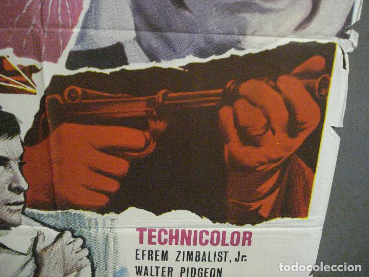 Cine: CDO 5668 EL CRIMEN COMO META EFREM ZIMBALIST WALTER PIDGEON POSTER ORIGINAL 70X100 ESTRENO - Foto 8 - 219522721