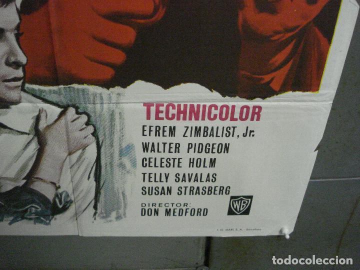 Cine: CDO 5668 EL CRIMEN COMO META EFREM ZIMBALIST WALTER PIDGEON POSTER ORIGINAL 70X100 ESTRENO - Foto 9 - 219522721