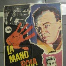 Cine: CDO 5680 LA MANO ROJA PAUL HUBSCHMID ELEANORA ROSSI-DRAGO POSTER ORIGINAL ESPAÑOL 70X100 ESTRENO. Lote 219530331