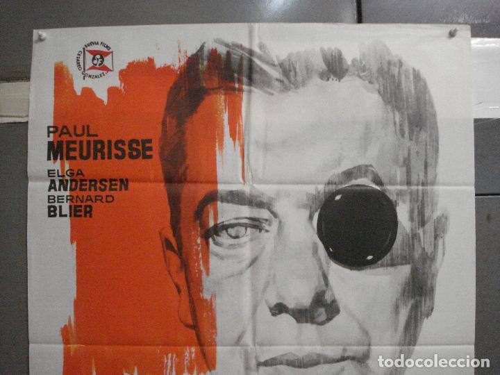Cine: CDO 5688 EL MONOCULO NEGRO PAUL MEURISSE JANO POSTER ORIGINAL 70X100 ESTRENO - Foto 2 - 219538646