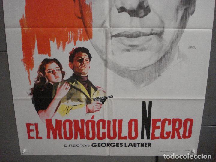 Cine: CDO 5688 EL MONOCULO NEGRO PAUL MEURISSE JANO POSTER ORIGINAL 70X100 ESTRENO - Foto 3 - 219538646