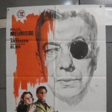 Cine: CDO 5688 EL MONOCULO NEGRO PAUL MEURISSE JANO POSTER ORIGINAL 70X100 ESTRENO. Lote 219538646