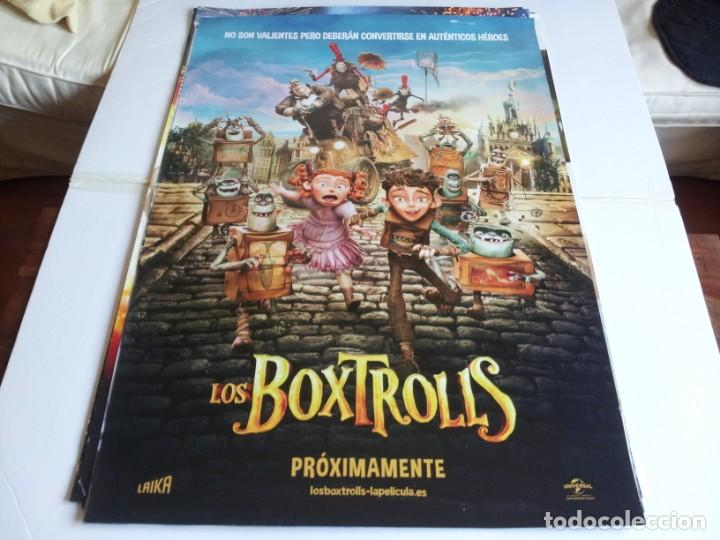 LOS BOXTROLLS - ANIMACION - CARTEL ORIGINAL UNIVERSAL AÑO 2014 (Cine - Posters y Carteles - Infantil)