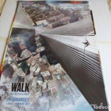Cine: EL DESAFÍO THE WALK - JOSEPH GORDON-LEVITT, BEN KINGSLEY - CARTEL ORIGINAL SONY AÑO 2015. Lote 219649615