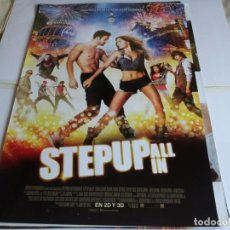 Cine: STEP UP ALL IN - RYAN GUZMAN, BRIANA EVIGAN - CARTEL ORIGINAL SURTSEY AÑO 2014. Lote 219655417