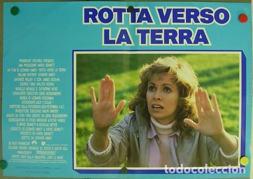 Cine: DD62D STAR TREK 4 MISION SALVAR LA TIERRA WILLIAM SHATNER NIMOY SET 6 POSTER ORIGINAL ITALIANO 47X68 - Foto 6 - 219749261