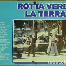 Cine: DD62D STAR TREK 4 MISION SALVAR LA TIERRA WILLIAM SHATNER NIMOY SET 6 POSTER ORIGINAL ITALIANO 47X68. Lote 219749261