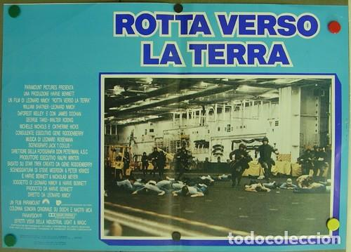 Cine: DD62D STAR TREK 4 MISION SALVAR LA TIERRA WILLIAM SHATNER NIMOY SET 6 POSTER ORIGINAL ITALIANO 47X68 - Foto 2 - 219749261