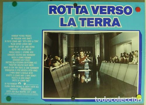 Cine: DD62D STAR TREK 4 MISION SALVAR LA TIERRA WILLIAM SHATNER NIMOY SET 6 POSTER ORIGINAL ITALIANO 47X68 - Foto 4 - 219749261